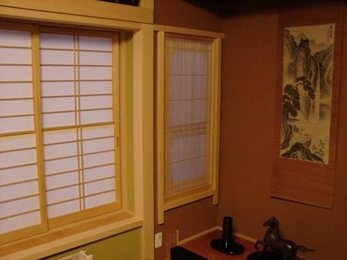 本格的な和室と塗り壁で落ち着いた雰囲気です。